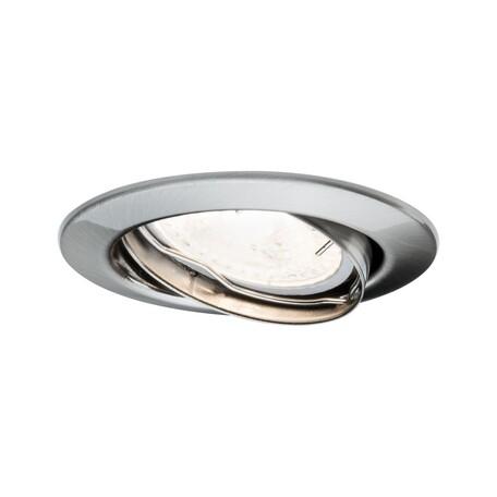 Встраиваемый светильник Paulmann LED 230V GU10 51mm 92102, 1xGU10x6,5W, металл