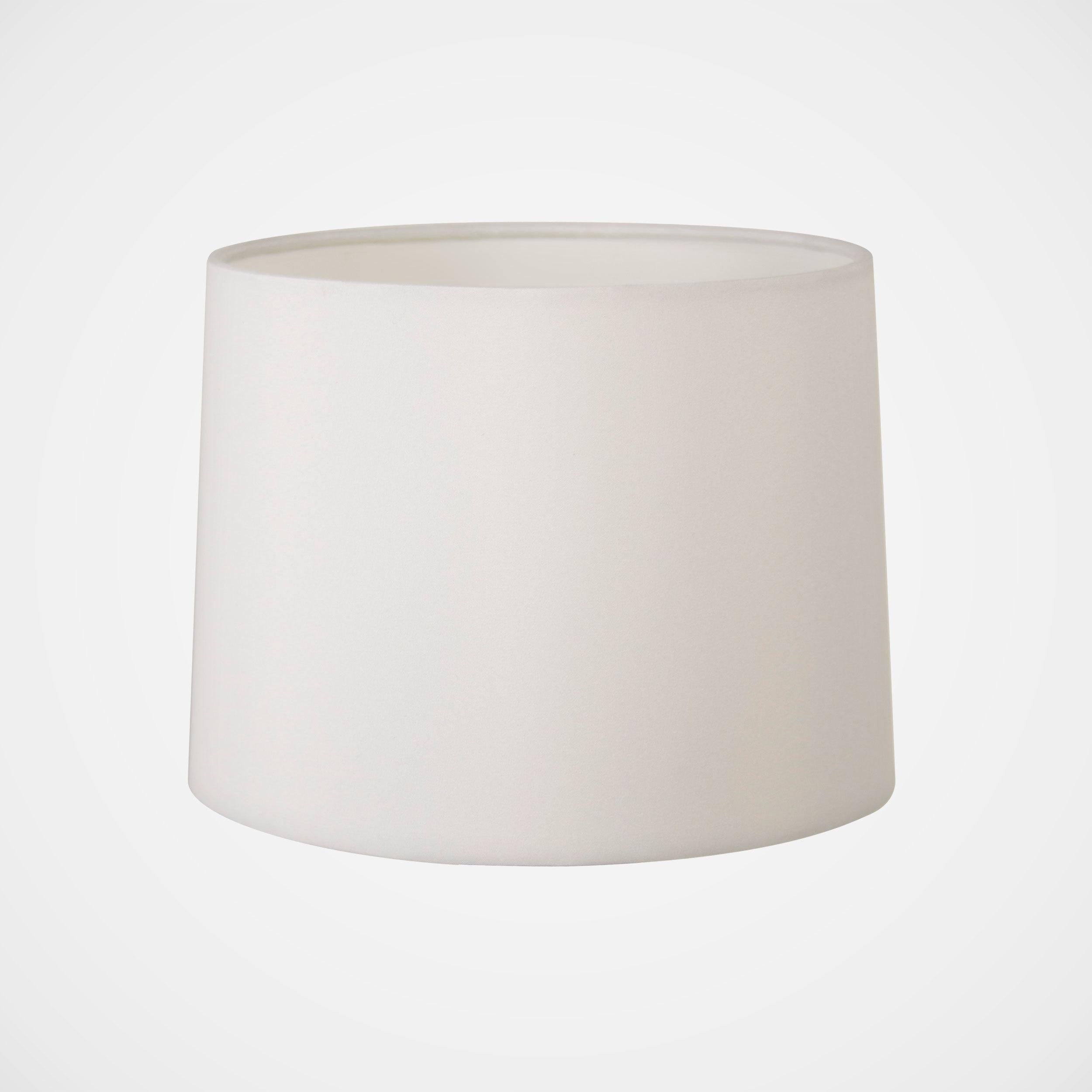 Абажур Astro Tapered Drum 5013001 (4049), белый, текстиль - фото 1