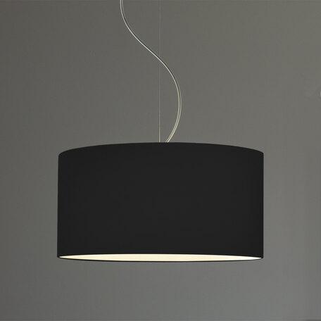 Абажур Astro Drum 5016011 (4157), черный, текстиль