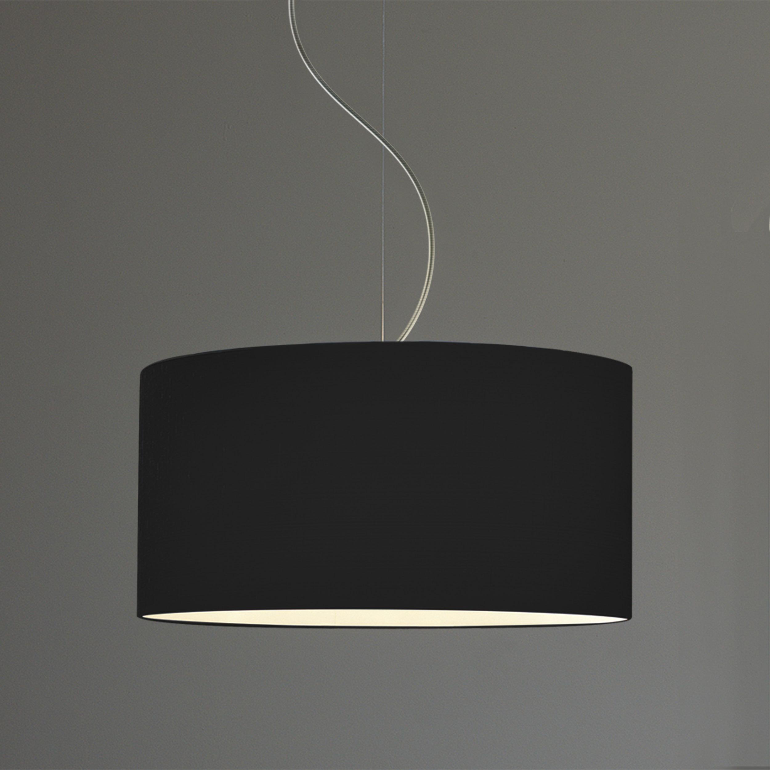 Абажур Astro Drum 5016011 (4157), черный, текстиль - фото 1