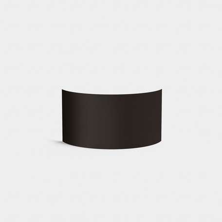 Абажур Astro Semi Drum 5026002 (4136), черный, текстиль