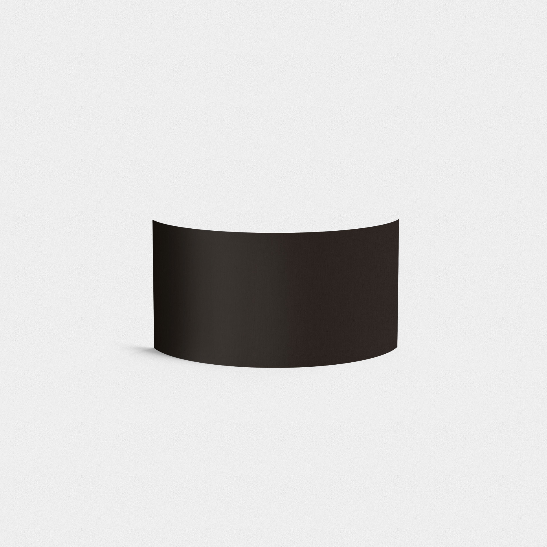 Абажур Astro Semi Drum 5026002 (4136), черный, текстиль - фото 1
