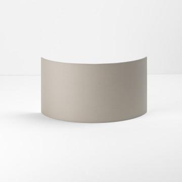 Абажур Astro Semi Drum 5026005 (4198), серый, текстиль