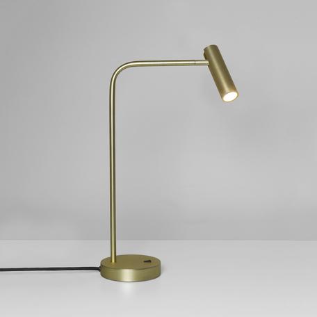 Настольная светодиодная лампа Astro Enna 1058007 (4574), LED 4,5W 2700K 124lm CRI80, матовое золото, металл