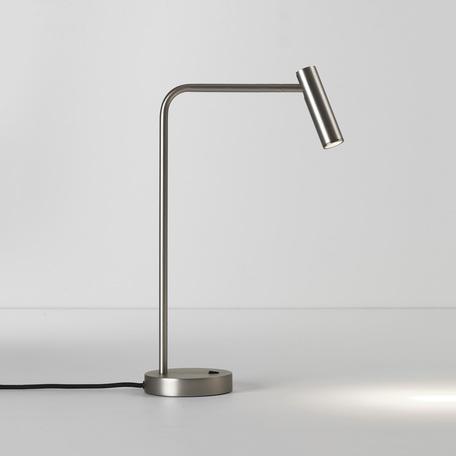 Настольная светодиодная лампа Astro Enna 1058057 (4578), LED 4,5W 2700K 124lm CRI80, никель, металл