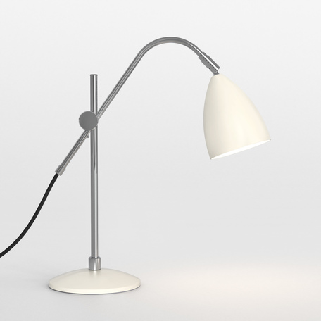 Настольная лампа Astro Joel 1223010 (4552), 1xE27x42W, бежевый, хром, металл