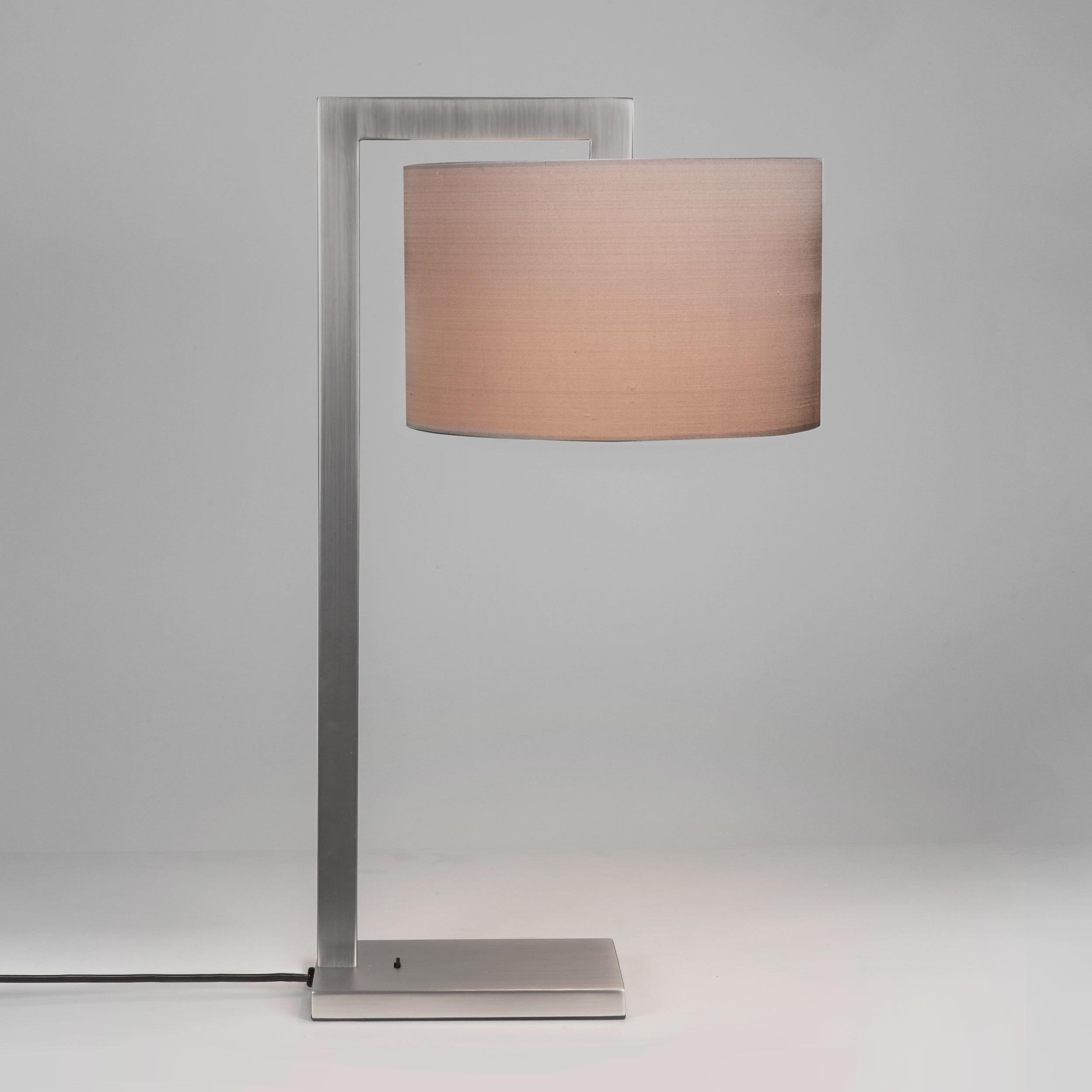 Основание настольной лампы Astro Ravello 1222008 (4555), 1xE27x60W, никель, металл - фото 1