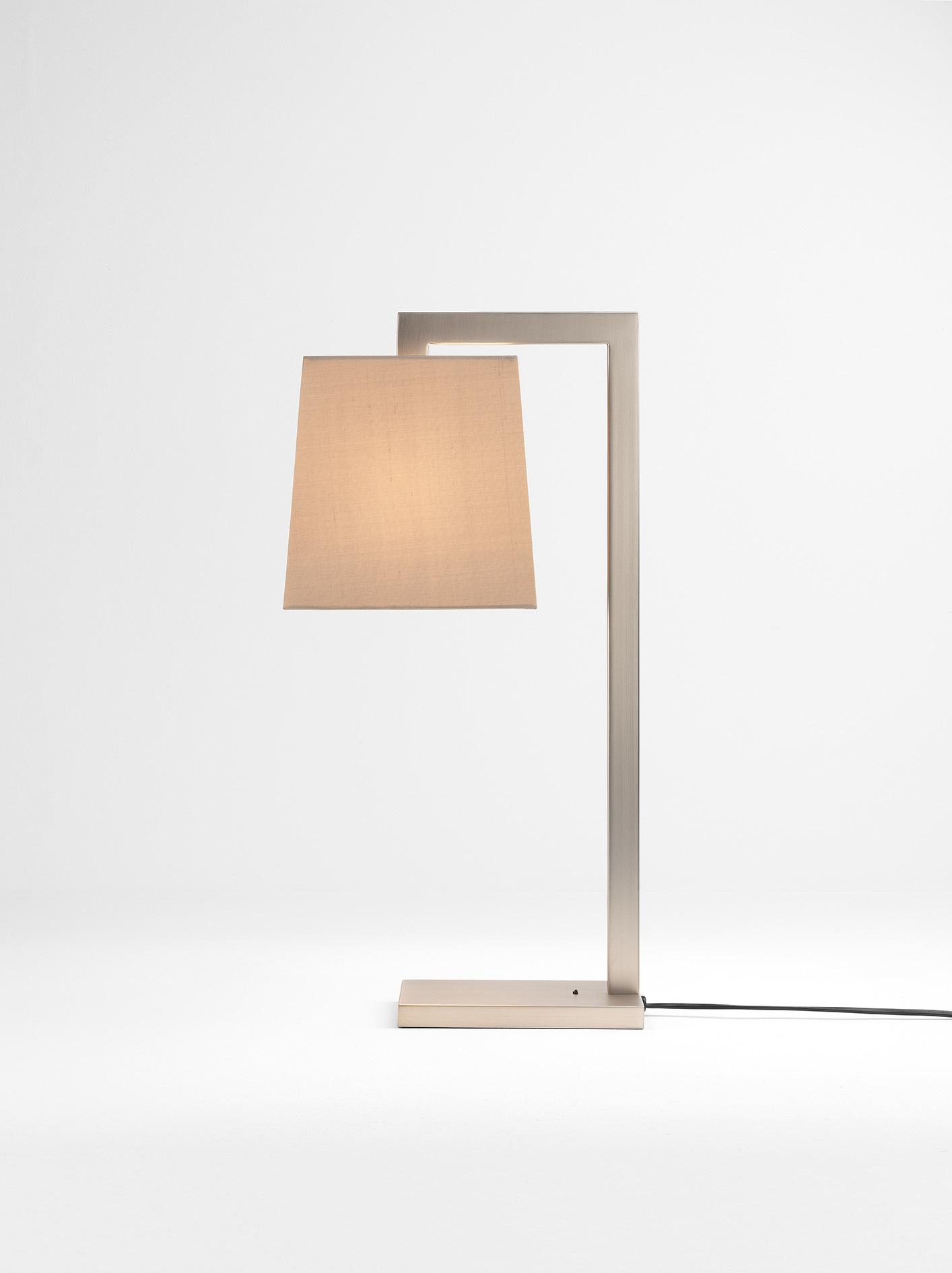 Основание настольной лампы Astro Ravello 1222008 (4555), 1xE27x60W, никель, металл - фото 2
