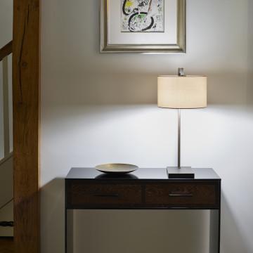 Основание настольной лампы Astro Ravello 1222008 (4555), 1xE27x60W, никель, металл - миниатюра 6