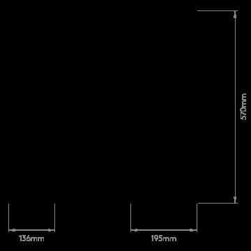 Схема с размерами Astro 1222008