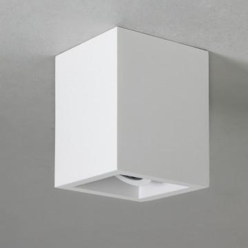 Потолочный светильник Astro Osca 1252007 (5686), 1xGU10x6W, белый, под покраску, гипс