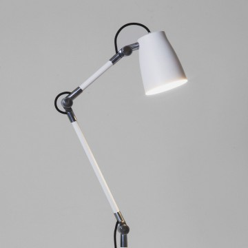 Каркас настольной лампы или торшера Astro Atelier 1224002 (4560), 1xE27x28W, белый, хром, металл