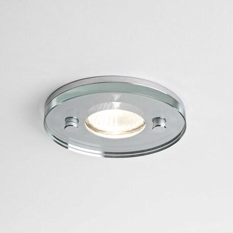 Встраиваемый светильник Astro 5504, прозрачный, стекло - миниатюра 1