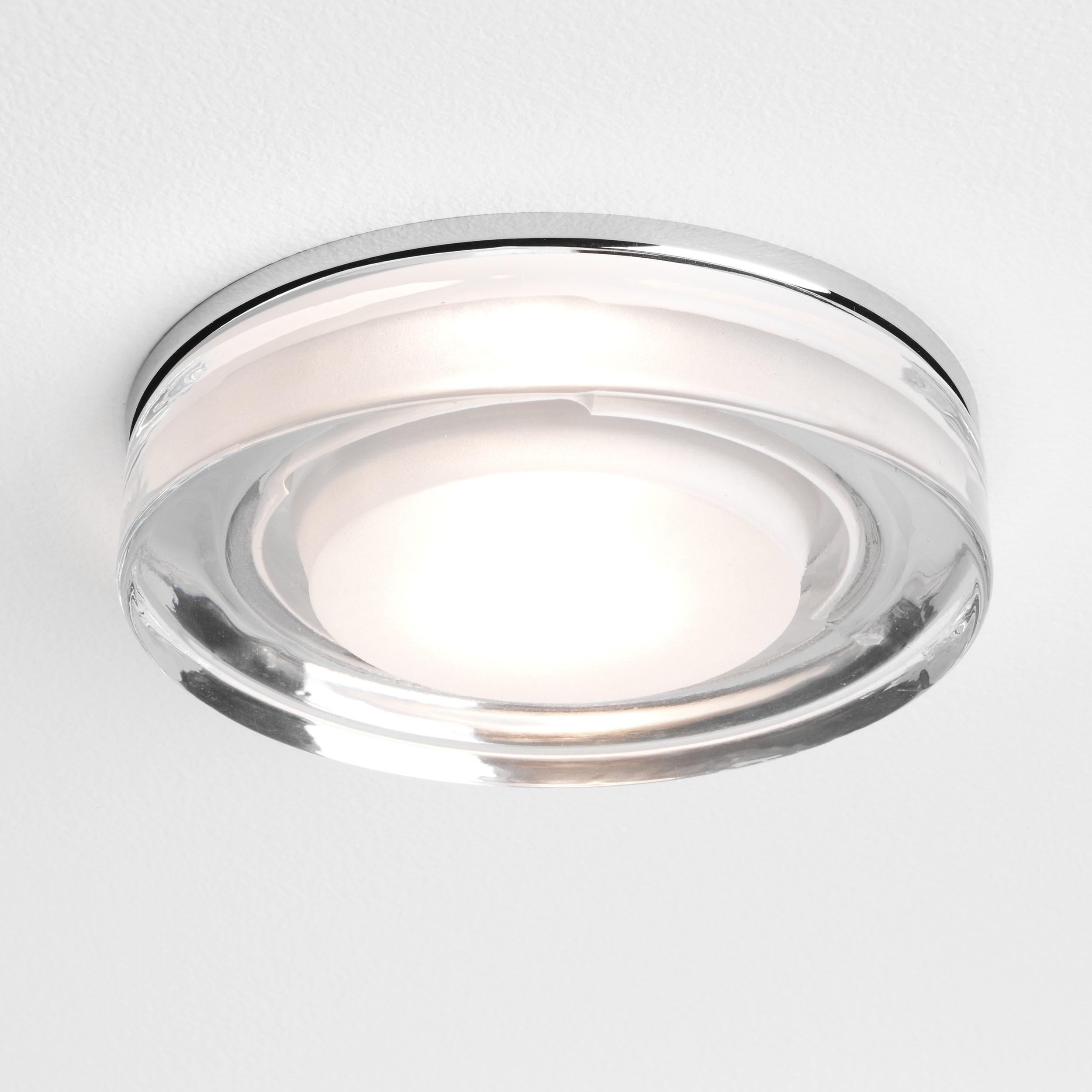 Встраиваемый светильник Astro Vancouver 1229003 (5518), IP65, 1xGU10x50W, прозрачный, стекло - фото 1