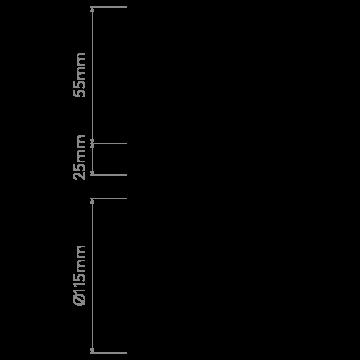 Схема с размерами Astro 1229003