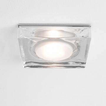 Встраиваемый светильник Astro Vancouver 1229004 (5519), IP65, 1xGU10x50W, прозрачный, стекло