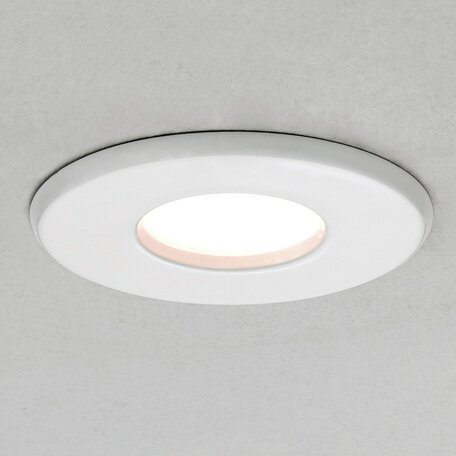 Встраиваемый светильник Astro Kamo 1236011 (5621), IP65, 1xGU10x6W, белый, металл, стекло