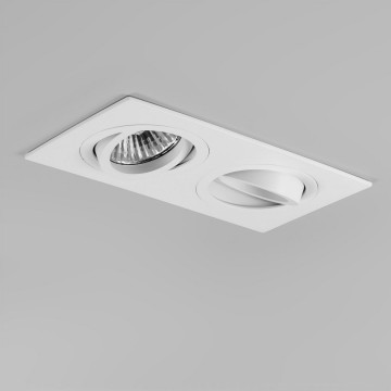 Встраиваемый светильник Astro Taro 1240017 (5648), 2xGU10x50W, белый, металл