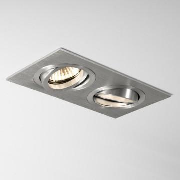 Встраиваемый светильник Astro Taro 1240018 (5649), 2xGU10x50W, алюминий, металл