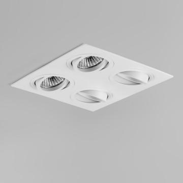 Встраиваемый светильник Astro Taro 1240021 (5663), 4xGU10x50W, белый, металл