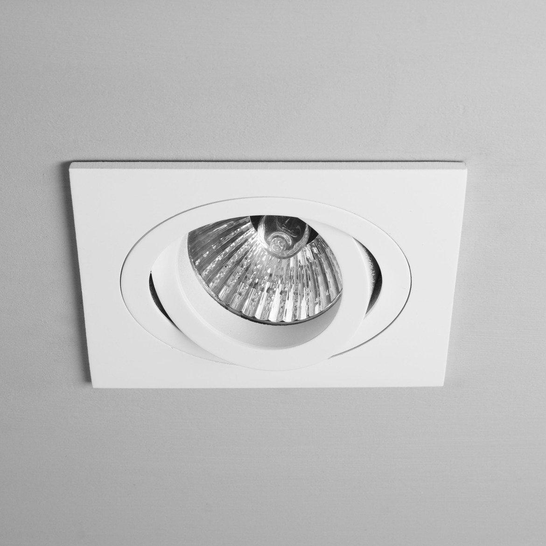 Встраиваемый светильник Astro Taro 1240030 (5678), 1xGU10x50W, белый, металл - фото 1