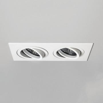 Встраиваемый светильник Astro Taro 1240032 (5710), 2xGU10x50W, белый, металл