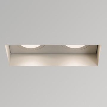 Встраиваемый светильник Astro Trimless 1248008 (5681), 2xGU10x50W, белый, металл