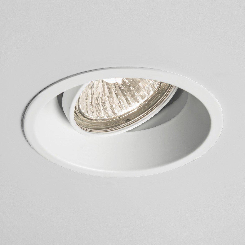 Встраиваемый светильник Astro Minima 1249008 (5739), 1xGU10x50W, белый, металл - фото 1