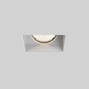 Встраиваемый светильник Astro Blanco 1253003 (5656), 1xGU10x50W, белый, под покраску, гипс