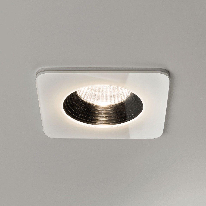 Встраиваемый светодиодный светильник Astro Vetro 1254007 (5731), IP65, LED 6W 2700K 594lm CRI80, белый, прозрачный, черный, металл, стекло - фото 1