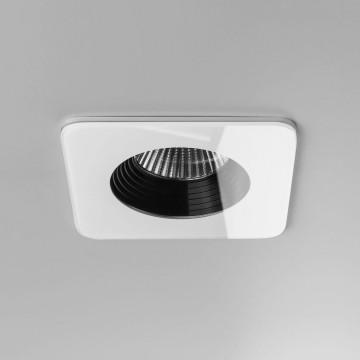 Встраиваемый светодиодный светильник Astro Vetro 1254007 (5731), IP65, LED 6W 2700K 594lm CRI80, белый, прозрачный, черный, металл, стекло - миниатюра 2