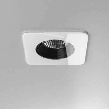 Встраиваемый светодиодный светильник Astro Vetro 1254014 (5747), IP65, LED 6W 3000K 629.3lm CRI80, белый, черно-белый, стекло