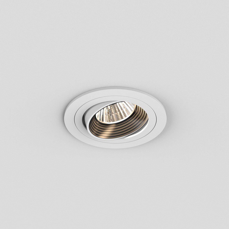 Встраиваемый светодиодный светильник Astro Aprilia 1256024 (5759), IP21, LED 6,1W 2700K 604.8lm CRI80, белый, металл - фото 1