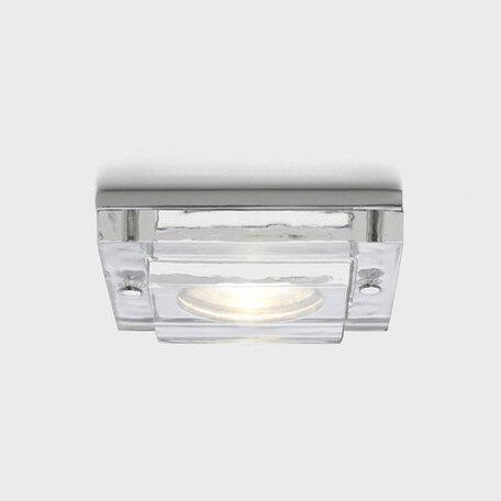 Встраиваемый светильник Astro Mint 5565, IP65, 1xGU10x50W, прозрачный, стекло