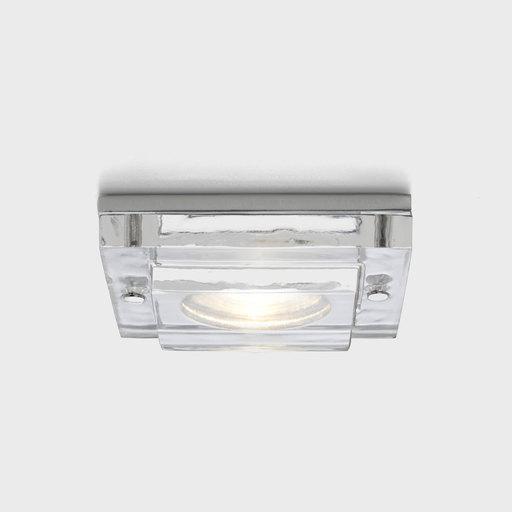 Встраиваемый светильник Astro Mint 5565, IP65, 1xGU10x50W, прозрачный, стекло - фото 1