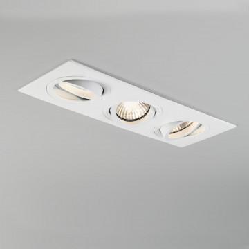 Встраиваемый светильник Astro Taro 1240019 (5650), 3xGU10x50W, белый, металл