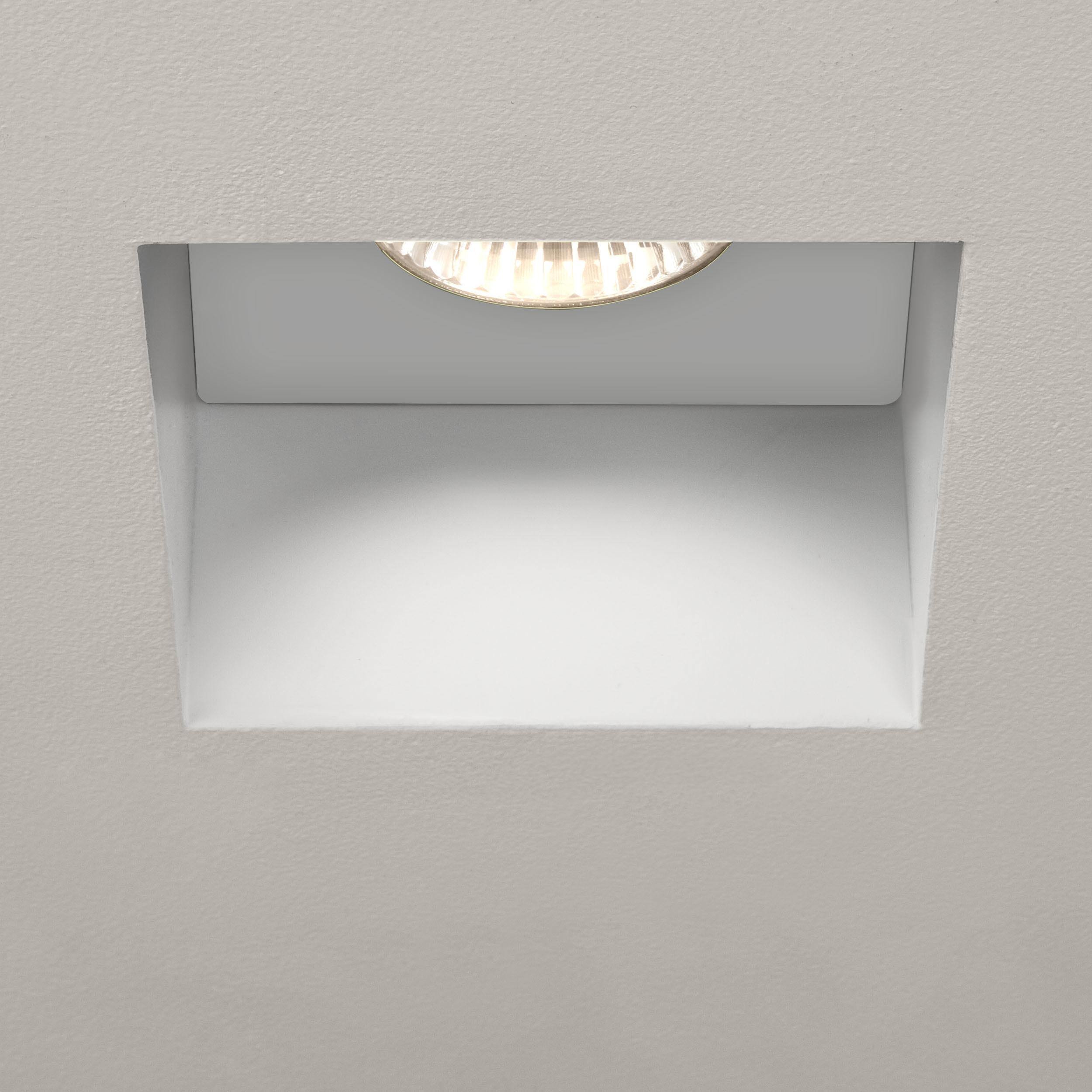 Встраиваемый светильник Astro Trimless 1248005 (5670), IP65, 1xGU10x6W, белый, металл - фото 1