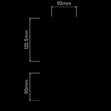 Схема с размерами Astro 1248005