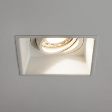 Встраиваемый светильник Astro Minima 1249006 (5737), 1xGU10x50W, белый, металл