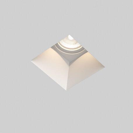 Встраиваемый светильник Astro Blanco 1253002 (5655), 1xGU10x50W, белый, под покраску, гипс