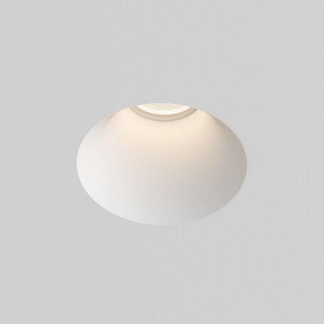 Встраиваемый светильник Astro Blanco 1253004 (5657), 1xGU10x50W, белый, под покраску, гипс