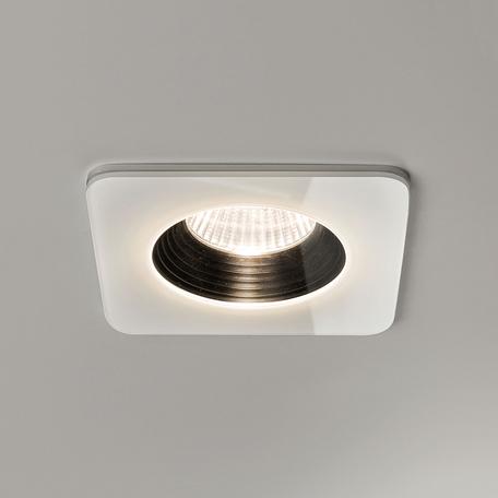 Встраиваемый светодиодный светильник Astro Vetro 1254007 (5731), IP65, LED 6W 2700K 594lm CRI80, белый, черно-белый, стекло - миниатюра 1