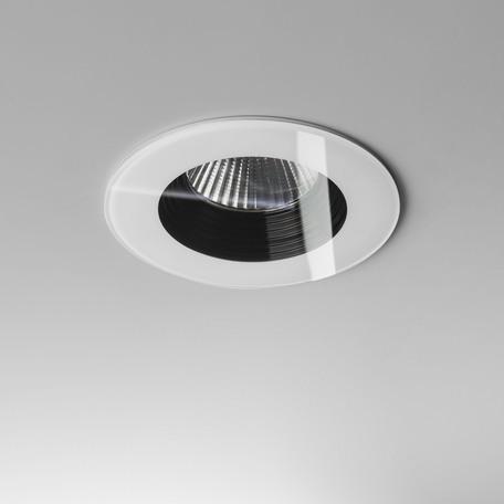 Встраиваемый светодиодный светильник Astro Vetro 1254013 (5746), IP65, LED 6W 3000K 629.3lm CRI80, белый, черно-белый, стекло