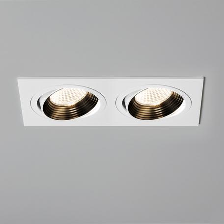 Встраиваемый светодиодный светильник Astro Aprilia 1256019 (5749), IP21, LED 12,2W 3000K 1206.1lm CRI80, белый, металл