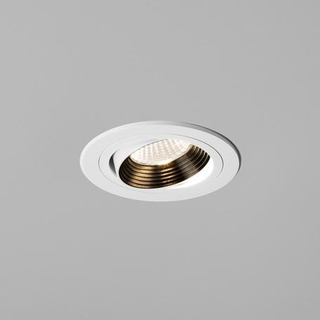 Встраиваемый светодиодный светильник Astro Aprilia 1256024 (5759), IP21, LED 6,1W 2700K 604.8lm CRI80, белый, металл - миниатюра 1