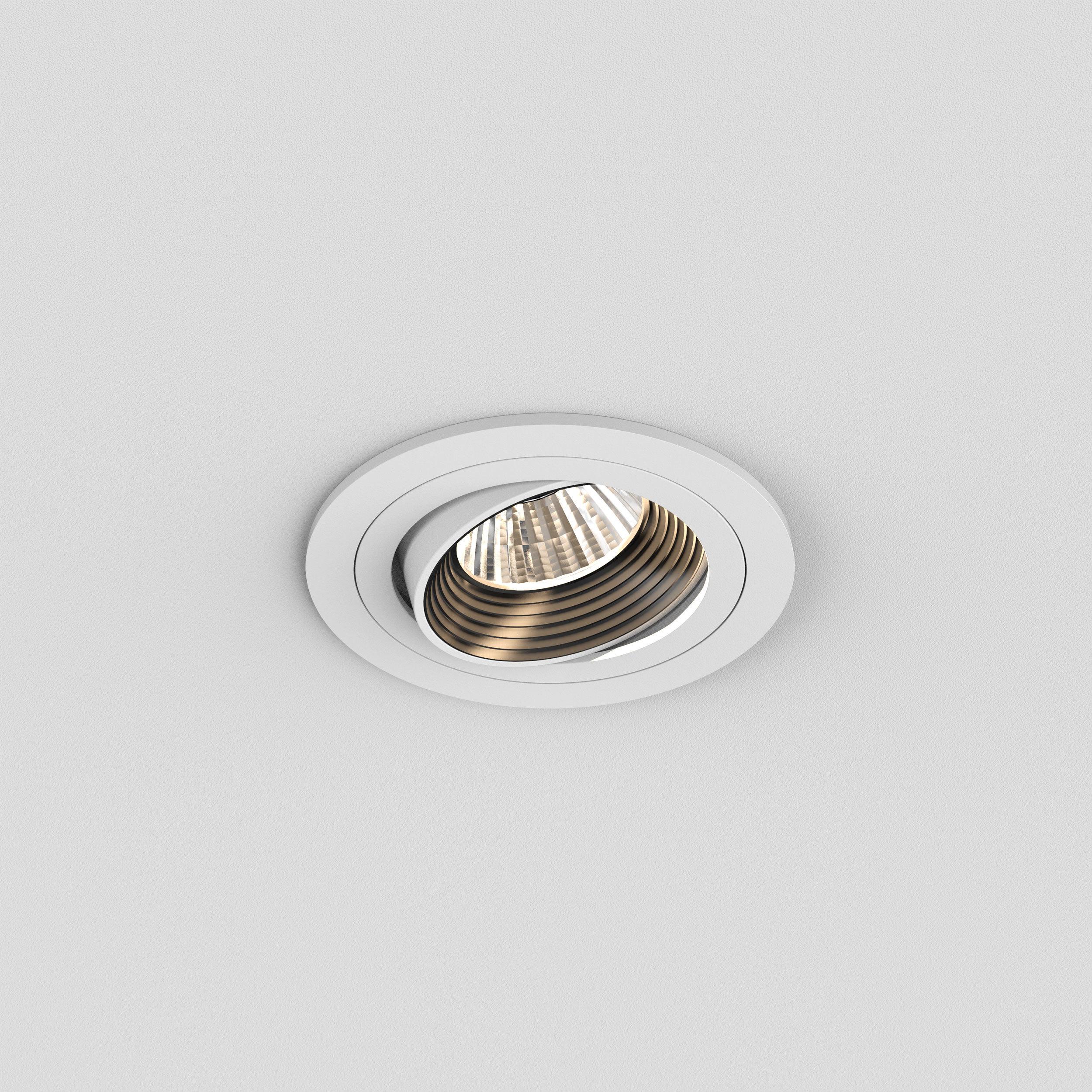 Встраиваемый светодиодный светильник Astro Aprilia 1256024 (5759), IP21, LED 6,1W 2700K 604.8lm CRI80, белый, металл - фото 3