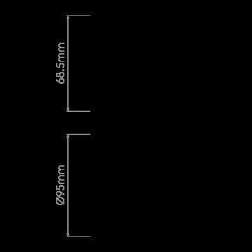 Схема с размерами Astro 1256024