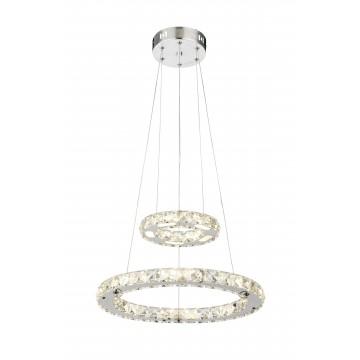Подвесной светодиодный светильник Globo Marilyn I 67037-24AA 4000K (дневной), металл, пластик