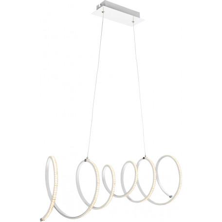 Подвесной светодиодный светильник Globo Jivan 67827-45H 3000K (теплый), металл, пластик