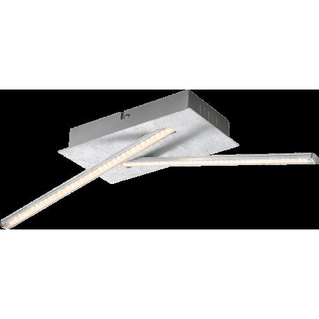 Потолочный светодиодный светильник Globo Fuego 67832-12S, LED 12W, 3000K (теплый), металл, пластик